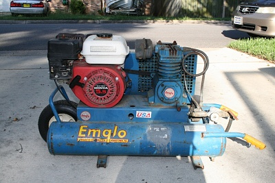 Gas Air Compressor 5.5HP