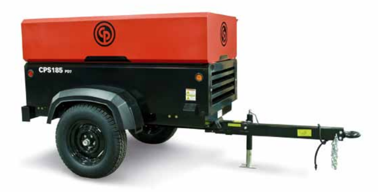 Towable Air Compressor 185CFM