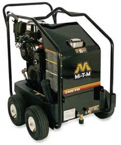 Hot Pressure Washer, 2400PSI