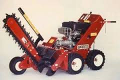 Walk Behind Trencher 4WD