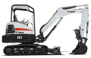 Excavator Conv. Tailswing
