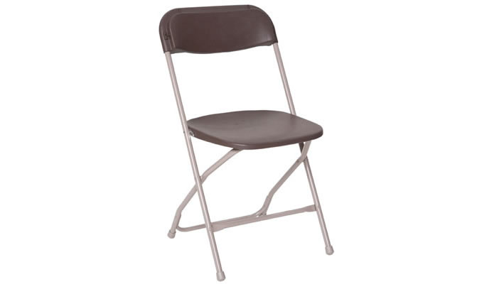 Folding Chair, Brown