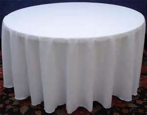Tablecloth 108″ Round
