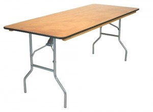Table 6'x30″