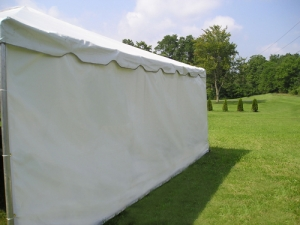 Tent Side, Solid 7'x20′