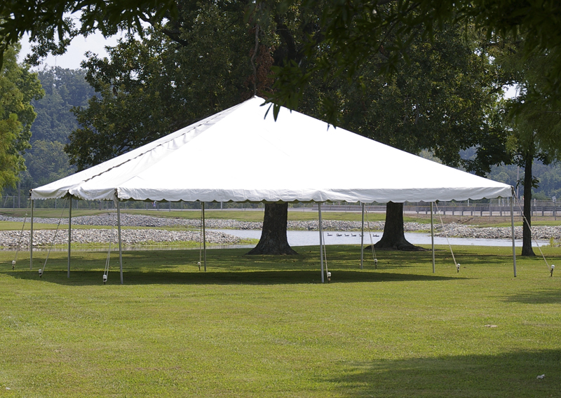 Tent 40'x40′ Frame