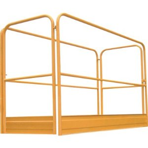 Bakers Scaffold Guardrail