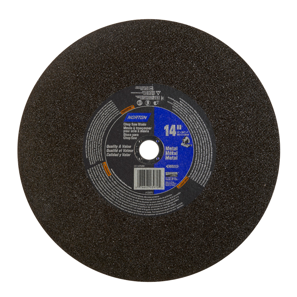 Abrasive Blade, Metal, 14″x1″/20mm