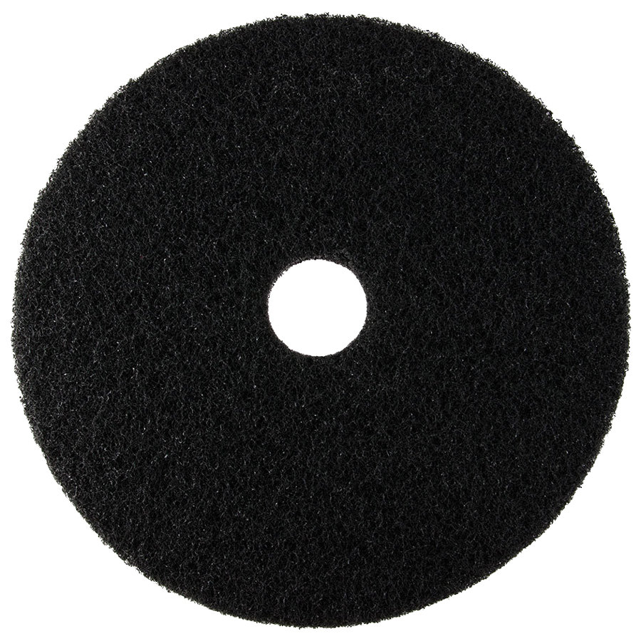 17″ Pad, Black Stripping