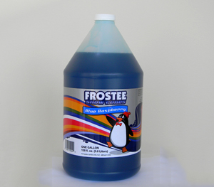 Sno Cone Syrup, Gallon Blue Raspberry